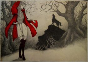 red riding hood by mateica88