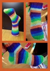 Molly Weasley's Everyday Socks by KnitLizzy