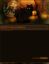 Halloween Journal Skin by VladNoxArt