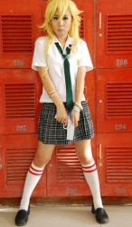 PSG: School Locker Chick by mistressBLACK