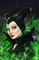 Maleficent by Vinnie14