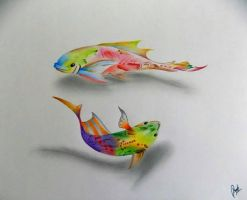 Colors In 3D by AyushSant