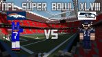 NFL Super Bowl XLVIII in Minecraft by UmbreonStudios