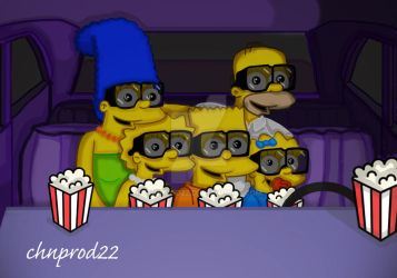 Itchy And Scratchy The Movie by ChnProd22