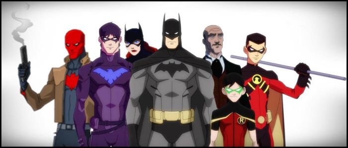 BatFamily - Young Justice Style V2.0 by DraganD