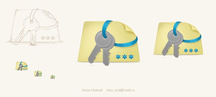 Icon for the Password Manager by AnnaLitvinuk