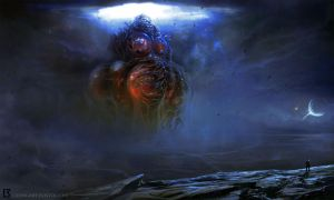 Yog Sothoth Rising by TentaclesandTeeth