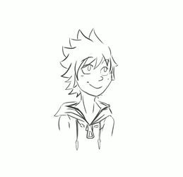 ~ Roxas's Smile ~ by Eriin-chan