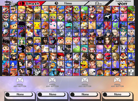 Super Smash Bros. V Roster by SuperMase9X
