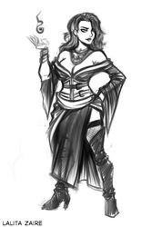 Pathfinder: Lalita Zaire Concept 3 by OutlawOrange