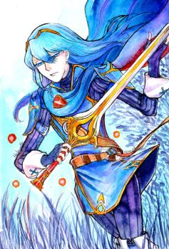 Lucina commission by Halouette