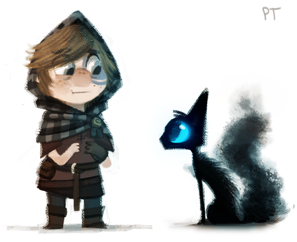 DAY 431. Lonan and the Sidhe doodle by Cryptid-Creations
