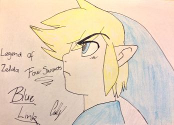 Blue Link~ by PsychoWriter16