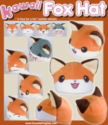 Kawaii Fox Hat + Winners by KayPikeFashion