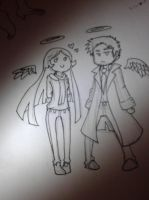Misha and Cas by brandy-beveraj