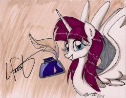 Signed By Lauren Faust by newyorkx3