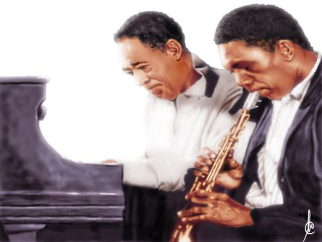 Ellington and Coltrane by PetromyzonMarinus