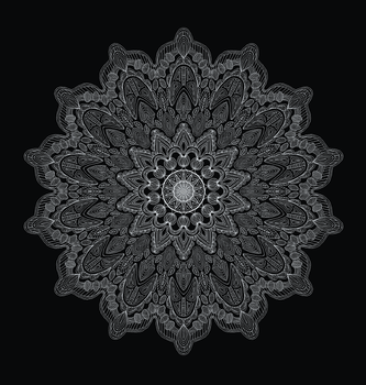 Black Beauty Mandala by mandalagaba