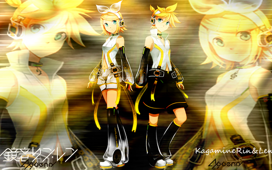 Kagamine RinLen Append Wall by LinktloZelda