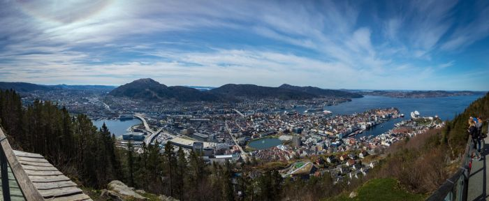 Bergen panorama by cmeeren