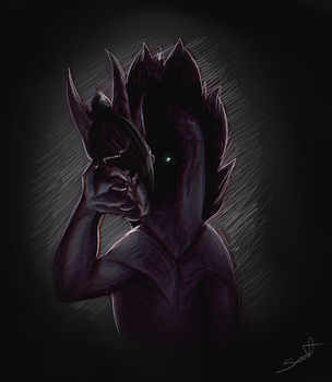 Behind the mask by cynder-lany