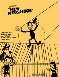Bendy in New Neighbor (Edited) by jacamontronic