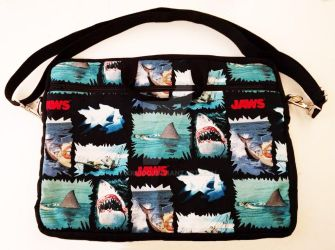 Jaws Laptop Bag by xkiddo