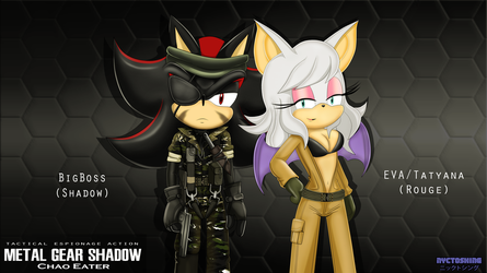 Metal Gear Shadow by nyctoshing