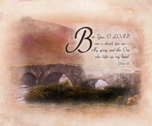 psalms 3:3b by madetobeunique