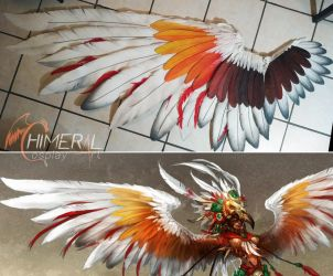 WIP Fury - evafoam feathers by Chimeral-CosplayArt
