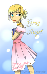 Gray Angel by Ipku