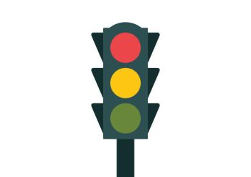 Flat Traffic Light by superawesomevectors