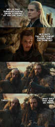 Hobbit Week - An unexpected compliment (spoilers) by yourparodies