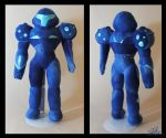 Dark Samus plushie V. 2 by Eyes5