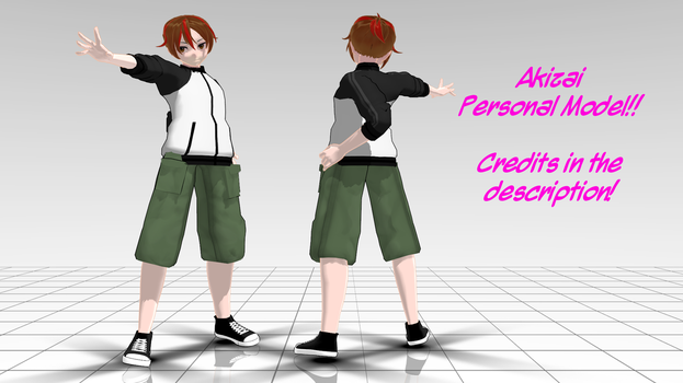 My Personal Male MMD Model! by SakuraNights