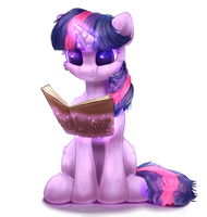 Little Twilight Sparkle! by PeachMayFlower