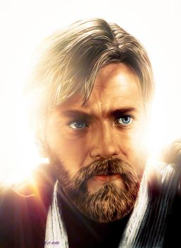 Obi-Wan Kenobi - 2012 Version by Couiche
