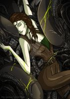 Alien Resurrection by PHATboyArt