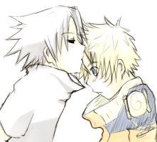 sasunaru for YougonnaEatThat by PollyGuo
