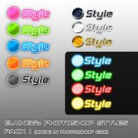 Photoshop Styles Pack1 by ElaineG