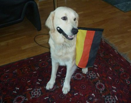 Barking for Germany by GoldenQueen