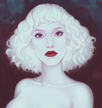 Ghost girl by ellrano