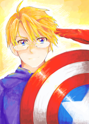 CAPTAIN AMERICAAA by skyna