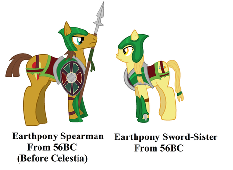Earthpony Soldiers by Vector-Brony