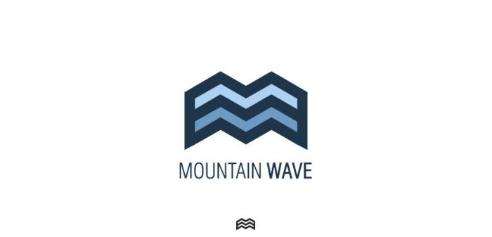 Mountain Wave Logo by UVSoak3d