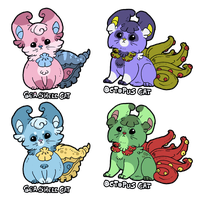 OceanCats Desings - SeaShell and Octopus CLOSE by IzaPug