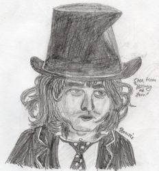 Johnny Depp as Benny by S-T-A-N-Z-I-E