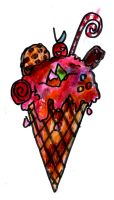 Fun Icecream Cone by SonicClone