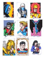 DC Legacy Sketch Cards A by tonyperna