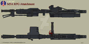 USCMC M5A RPG Attachment by Wolff60